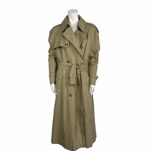 Vintage Aquascutum trench coat with check liner